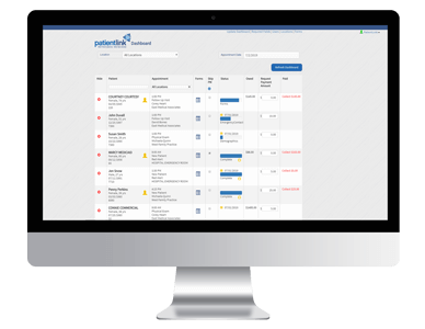PatientLink 360 Clinic Dashboard