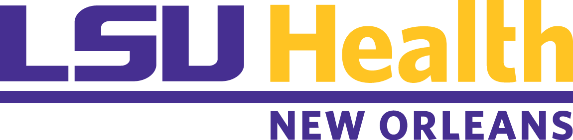 LSUHealth_New Orleans_Horz__Purple-Gold_CMYK